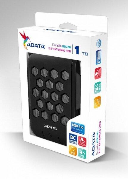 A-data HD720 1TB Durable Black (Melns)