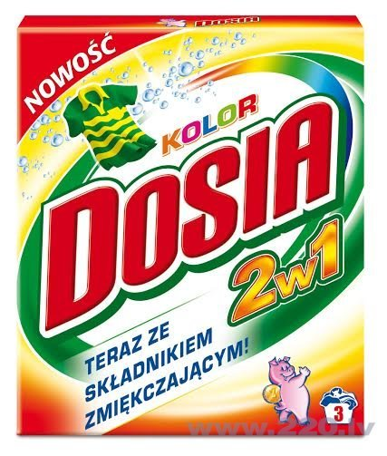 Veļas pulveris Dosia 2in1 Color , 0,3 kg