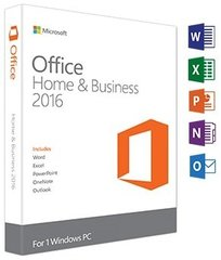 Microsoft Office 2016 Home and Business ENG T5D-02374