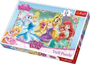 "Puzle Trefl ""Princese"", 24 gab."