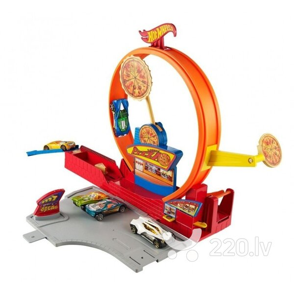 Auto trase Hot Wheels Speedy Pizza /automazgātuve