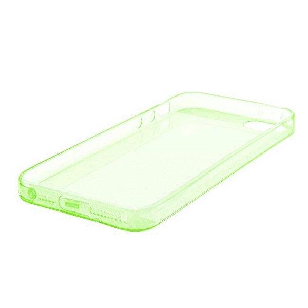 Telone Ultra Slim 0.3mm Back Case Sony Xperia M4 Aqua super plāns telefona apvalks Zaļš internetā