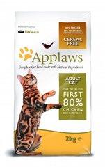 Sausa barība Applaws Dry Cat ar vistu, 2 kg