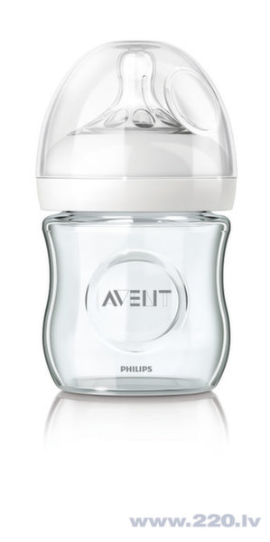 "Бутылочка Philips Avent ""Natural"" из стекла, 120ml"
