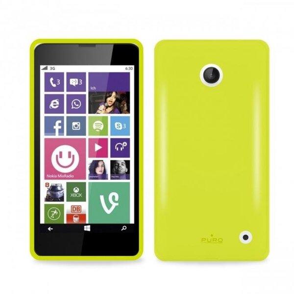 Чехол PURO для телефона Nokia Lumia 630/635, Зелёный