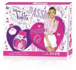 Komplekts La Rive Violetta Passion: edp 20 ml + dušas želeja - šampūns 250 ml