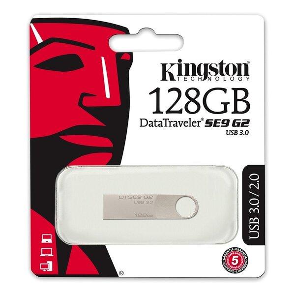 USB atmiņas karte Kingston DataTraveler DTSE9G2 128GB USB 3.0 cena