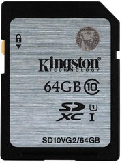 Kingston SDHC 64GB Class 10 UHS-I