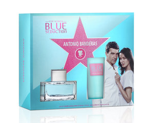 Komplets Antonio Banderas Blue Seduction: EDT 50 ml + ķermeņa losjons 100 ml