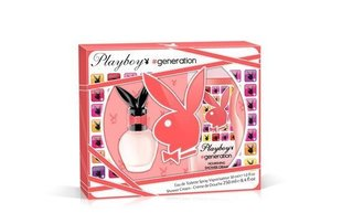 Komplekts Playboy Generation For Her: EDT 30 ml + dušas želeja 250 ml