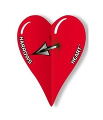 Šautriņu spārni Harrows Heart 8809