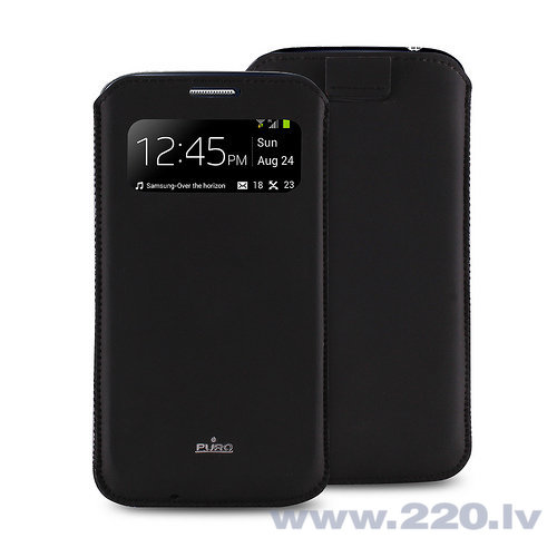 Чехол Puro для телефона Samsung Galaxy S4 (PCCS4VIEWBLK)