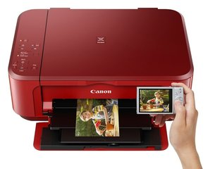 Canon PIXMA MG3650 WiFi Red цена и информация | Принтеры и МФУ | 220.lv