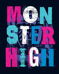 Bērnu pleds MONSTER HIGH
