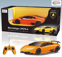 Radiovadāmais automodelis 1:24 Murcielago LP670-4 RASTAR 39000
