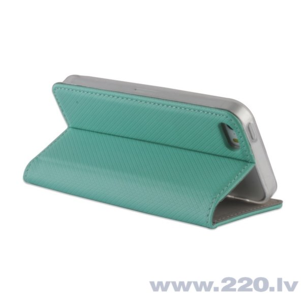 Forever Magnēstikas Fiksācijas Sāniski atverams maks bez klipša Sony E2003 E2053 Xperia E4g Piparmētru Zils internetā