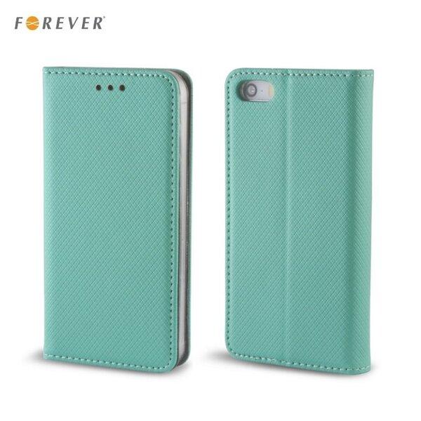 Forever Чехол-книжка с магнитной фиксацией для мобильного телефона Samsung J500 Galaxy J5, Мята