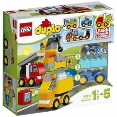 10816 LEGO® Duplo My First Cars and Trucks первые автомобили