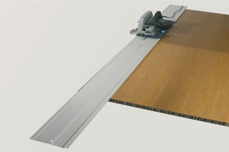 Направляющая рейка для циркулярной 1150x205x3мм WOLFCRAFT