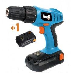Akumulatora skrūvgriezis WORK MEN WMPRT18LI2 18V cena un informācija | Skrūvgrieži un urbji | 220.lv
