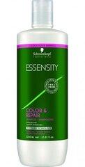 Šampūns krāsotiem matiem Schwarzkopf Professional Essensity Color & Repair 1000 ml cena un informācija | Šampūni | 220.lv