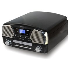 Camry CR 1134 b Turntable with CD/MP3/USB/SD/recording, 3W RMS