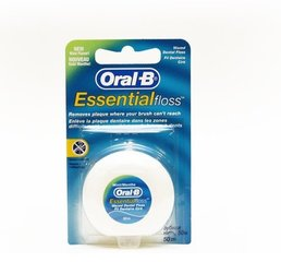 Зубная нить Oral-B Essential зубочистки, 50м