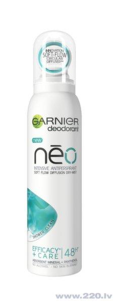 Izsmidzināms dezodorants pretsviedru Garnier Neo Shower Clean 150 ml