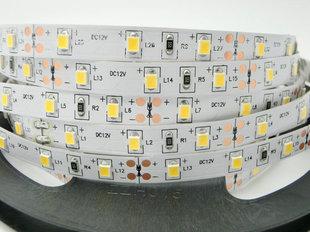 16W / m LED lente Luxsonn, 2835, 120 LED / m 1480 lm / m (6000K), auksti balta