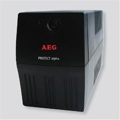 AEG UPS Protect alpha. 1200/ 1200VA, 600W/ 6x IEC-320 battery backup and overvoltage protection / Fax. Modem line protection / USB / Automatic Voltage Regulation / Line interactive / Free UPS shutdown software download cena un informācija | UPS- Nepārtrauktās barošanas bloki | 220.lv