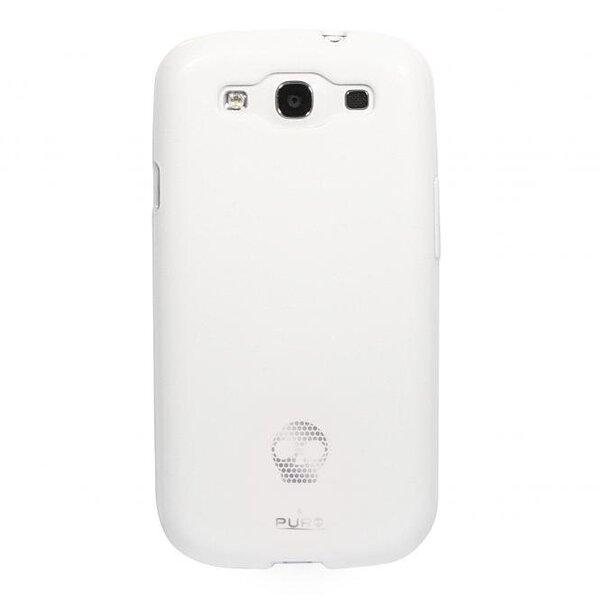 Aizmugures apvalks Pura Samsung Galaxy S3, balts