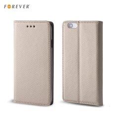Forever Magnēstikas Fiksācijas Sāniski atverams maks bez klipša Apple iPhone 6 6S Zeltains cena un informācija | Forever Magnēstikas Fiksācijas Sāniski atverams maks bez klipša Apple iPhone 6 6S Zeltains | 220.lv