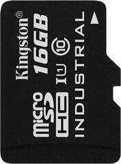 Kingston micro SD 16GB Class 10 U1 + adapteris cena un informācija | Kingston micro SD 16GB Class 10 U1 + adapteris | 220.lv
