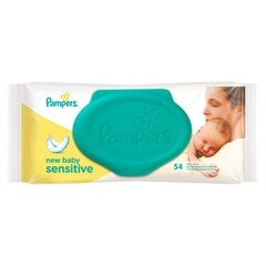 Cалфетки Pampers New baby Sensitive 54 шт. цена и информация | Подгузники и аксесуары | 220.lv
