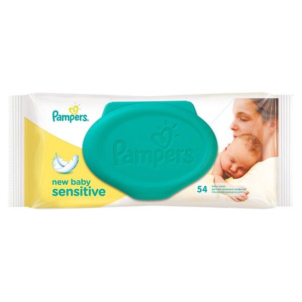 Salvetes Pampers New baby Sensitive 54 gab.