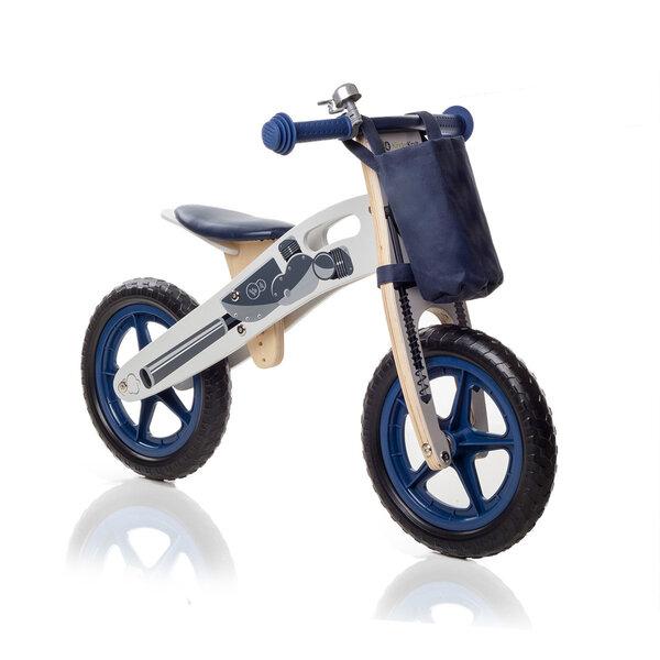 Balansa velosipēds ar piederumiem KinderKraft Runner Motorcycle