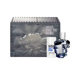 Комплект Diesel Only The Brave: EDT 125 мл + дезодорант 75 мл