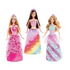 Lelle Barbie princese ar kupliem svārkiem, 1 gab. DHM49