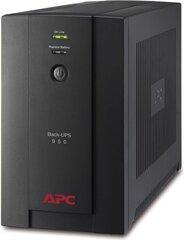 APC Back-UPS 950VA, 230V, AVR, USB, IEC cena un informācija | UPS- Nepārtrauktās barošanas bloki | 220.lv