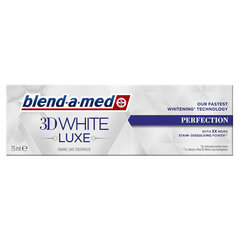 Zobu pasta Blend A Med 3DW Luxe Perfection, 75ml