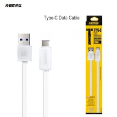 Remax Flat & Soft USB-Type-C 1m, Balts