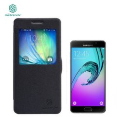 Чехол- книжка Nillkin Fresh S-View Book Case Samsung A510 Galaxy A5 Black (EU Blister) (чёрный)