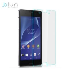 Blun Extreeme Shock 0.33mm / 2.5D Aizsargplēve-stikls Sony D6603 Xperia Z3 (EU Blister)
