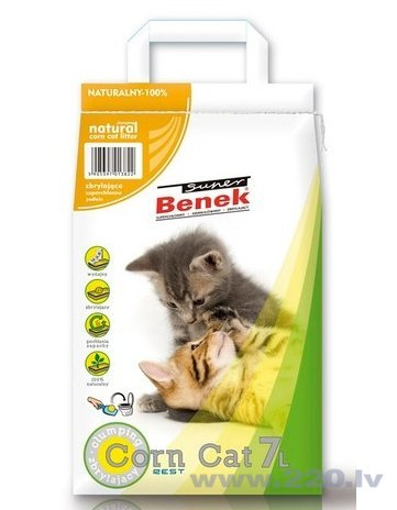 Kaķu pakaiši Super Benek Corn Cat 7 L