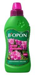 Mēslojums rododendriem un acālijām BIOPON, 0,5 L cena un informācija | Mēslojums rododendriem un acālijām BIOPON, 0,5 L | 220.lv