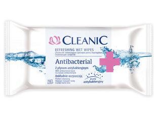Антибактериальные влажные салфетки Cleanic, 15 шт.