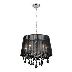 Piekaramā Lampa Italux Cornelia Black