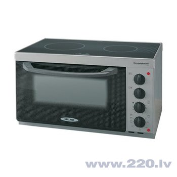 Rommelsbacher KML 3001 Mini Kitchener, 22 L, 4 heating modes, 1150W oven, 1000W grill, Anthracite