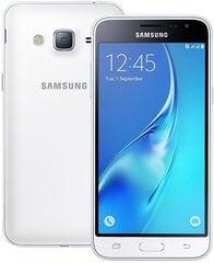 Samsung Galaxy J3 J320F/DS 8GB LTE Dual White (balts) cena un informācija | Mobilie telefoni | 220.lv