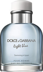 Tualetes ūdens Dolce & Gabbana Light Blue Swimming in Lipari edt 125 ml